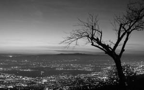 l'aereioporto vien di notte