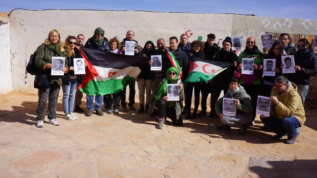 Visita al centro  Afapredesa, associazione delle famiglie dei prigionieri e desaparecidos saharawi