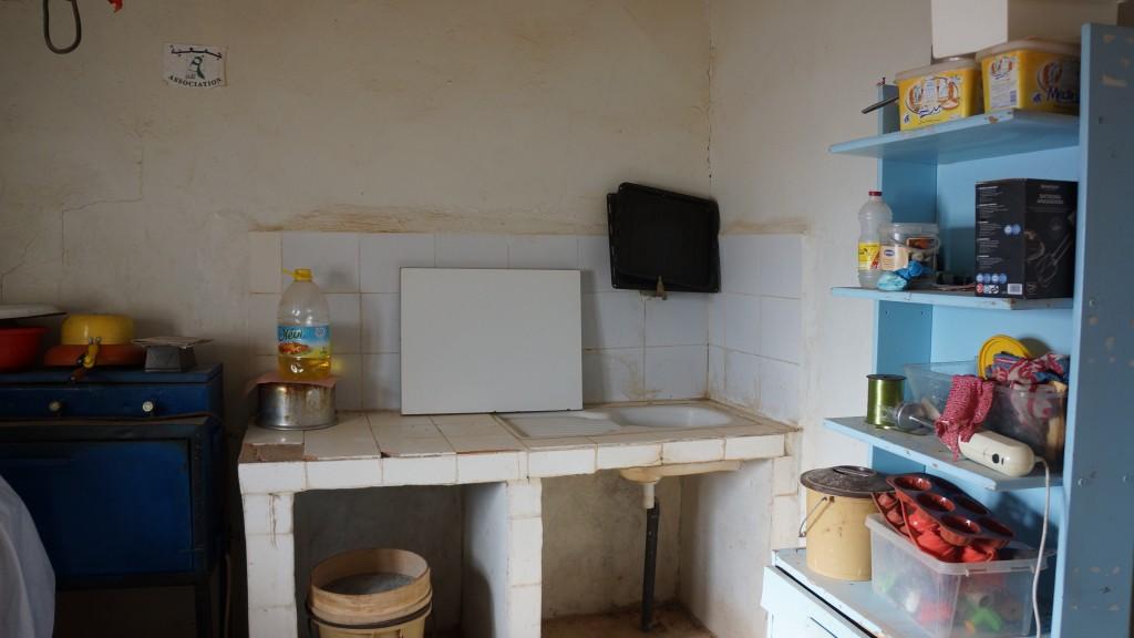 Laboratorio di pasticceria presso un centro di aiuto professionale per donne