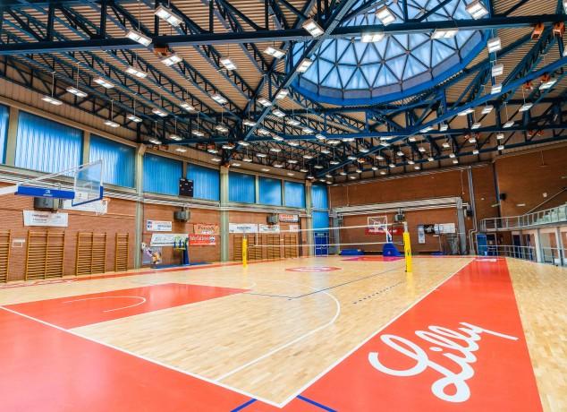 il nuovo playground del PalaLilly - Palazzetto dello Sport Vinicio Tarli