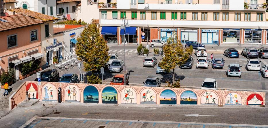Murales Piazza del Mercato